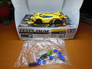 Tamiya 18637 1/32 JR Mini 4WD Pro Car Kit MA Chassis Festa Jaune