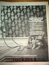 PAT TRAVERS BAND Go for what you Know 1979  UK Poster size Press ADVERT 14x12""