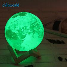 3D Magical Earth Lamp USB LED Night Light Birthday Gift Sensor Color Changing AU