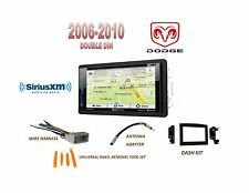 2006-2010 DODGE RAM GPS NAV BLUETOOTH TOUCHSCREEN DVD SIRIUS XM READY COMBO