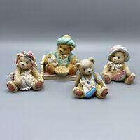 Cherished Teddies Figurines - Lot of 4