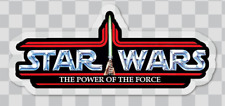 Star Wars Kenner Power of the Force LOGO car laptop sticker