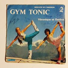 Ref960 Vinyle 45 Tours Véronique Et Davina Gym Tonic