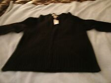 Men's sz L Old Navy Brand Sweater Navy Blue Wool Blend   NWT