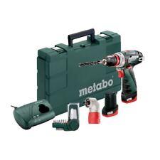 Metabo 10,8V Akku Bohrschrauber PowerMaxx BS Quick Basic Set | 2x 2,0Ah Akku
