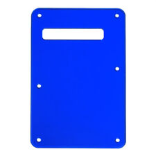 Mirror Guitar Trem Cover Tremolo Back Plate for Fender Strat Replacement Blue