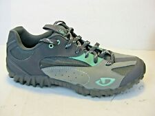Giro Petra Cycling Hike Mountain Bike Shoes Gray Shimano SM-SH51 Women 7.5 M