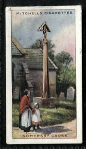 Tobacco Card, Mitchell, FAMOUS CROSSES, 1923, Somersby Cross, #22