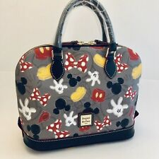 Dooney & Bourke Disney Parks Best of Mickey Mouse Parts Mania Satchel Bag Purse