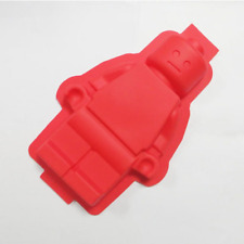 LEGO MAN MINIFIGURE ROBOT MOULD / BUILDING BLOCKS SILICONE MOLD - RED COLOUR