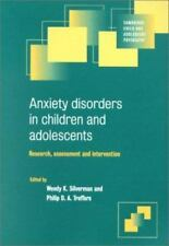 Anxiety Disorders in Children and Adolescents: Research, Assessment-ExLibrary