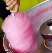 1KG Strawberry  Candy Floss Sugar READY TO USE IN YOUR MACHINE  free sticks