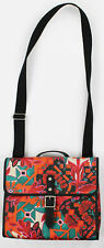 Fossil Womens Floral Vegan Flap Crossbody Floral Purse Bag Handbag Ret $88 New
