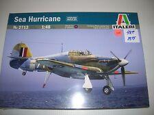 """Italeri # 2713 """"Sea Hurricane """" 1/48  sealed  lot # 11108"""