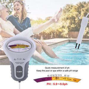 Digital Wasser Tester PH Wert Prüfer Chlor Messgerät Messer Water Aquarium Pool