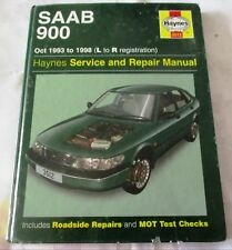 Saab 900 (October 1993-98) Service and Repair Manual - (L to R reg) Haynes
