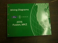 OEM Ford 2016 Fusion Lincoln MKZ Shop Manual Wiring Diagram Book nos