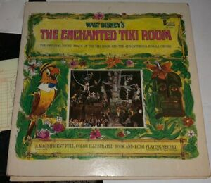 Walt Disney's The Enchanted Tiki Room 1968 Rare Hard to Find Thurl Ravenscroft