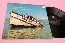 JIMMY BUFFETT LP LIVING AND MORIR 1°ST ORIG UK A1U/B1U NM SUPERIOR