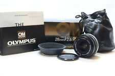 Olympus 28mm F2.8 Zuiko MC Auto-W OM Mount Wide Lens -BB 325-