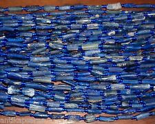 Perles Romain Fragment Verre Ancien 42cm Antique Ancient Roman Glass Bead Strand