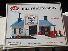 Model Power Billy's Auto Body Building KIT HO Scale (1:87)