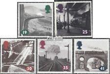 Verenigd Koninkrijk 1488-1492 postfris 1994 Stoomlocomotieven