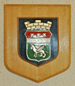 GKN Sankey Saxon APC wall plaque shield crest coat of arms