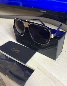 Original Cazal Sonnenbrille 665/3 Farbe 002 gold schwarz  neu