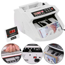 More details for professional money bill note counter fast currency cash counting machine bank uk