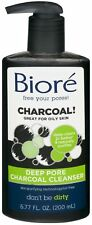 Biore Deep Pore Charcoal Cleanser 6.77 oz (Pack of 4)