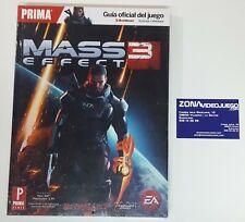 La Guía Oficial Mass Effect 3, Prima Games, Nueva a estrenar. 360, ps3, pc.