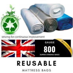 Mattress Bags - Mattress Storage Bags - Gauge 800 Super Strong Bag - Batch MB002