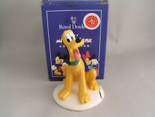 Royal Doulton Disney Mickey Mouse collezione Plutone FIGURINA, MM6, in scatola
