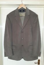Brand New Mens Mink Lined 2 Piece Suit ~ Jacket Size 40 Trousers Size 32 Long