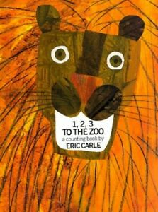 1,2,3 to the Zoo: A Counting Book by Carle, Eric Hardback Book The Fast Free