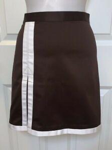 NWT~Ralph Lauren Golf Stylish Skirt ~6~Brown with white