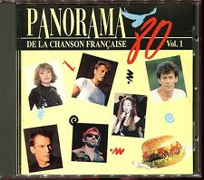 PANORAMA DE LA CHANSON FRANCAISE - ANNEES 80 - VOLUME 1 - CD COMPILATION [1092]