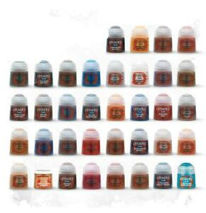 Citadel Base / Texture Paints 12ml Pots **Warhammer**Games Workshop**