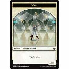 MTG Magic 4X jetons Mur / Wall Token  Guerre des Planeswalkers FR  NM