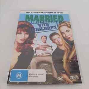 Married With Children : Season 8 (DVD, 3-Disc Set) NEW Region 4