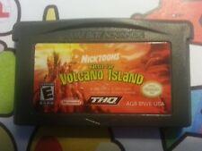 Nintendo NES  GAMEBOY ADVANCE NICKTOONS BATTLE OF VOLCANO ISLAND FREE POSTAGE DS