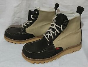 Kicker Boots Suede Canvas UK 8 used