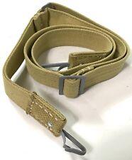 WWII M31 TROPICAL BREAD BAG BREADBAG CARRY STRAP-TAN CANVAS & WEBBING