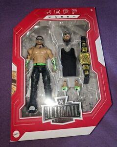 WWE/WWF Ultimate Edition Jeff Hardy Fan Takeover Exclusive Elite Figur NEU OVP