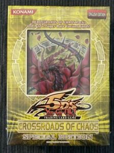 YUGIOH - CROSSROADS OF CHAOS - SPECIAL EDITION - ENGLISH