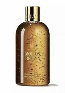 Molton Brown Mesmerising Oudh Accord & Gold Bath Shower Gel Body Wash 300ml