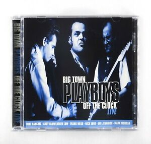 Big Town Playboys - Off The Clock Live - CD Album - EDGCD007