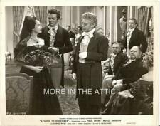 MERLE OBERON PAUL MUNI A SONG TO REMEMBER ORIG VINTAGE COLUMBIA PICTURES STILL