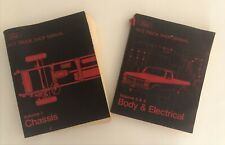 Ford 1973 Truck Shop Manual Volume 1, 3 & 4 Chassis, Body & Electrical